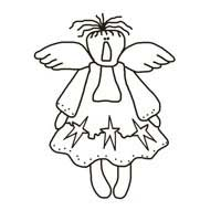 Prim Angel Pattern