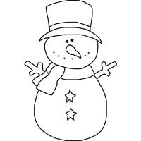 Cutest Snowman Pattern for Crafts