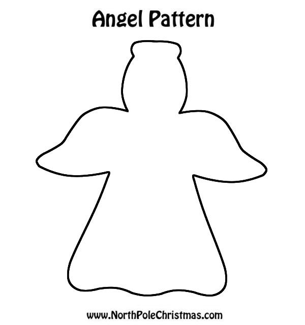Angel Cookie Cutter - NorthPoleChristmas.com