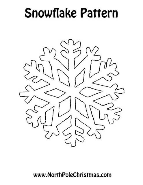 Printable Outline - NorthPoleChristmas.com