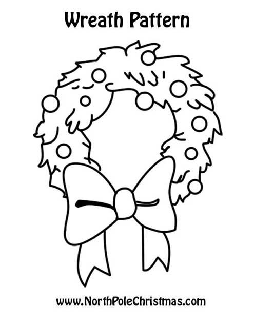 wreath Template - NorthPoleChristmas.com