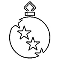 Ornament Clip Art with Stars