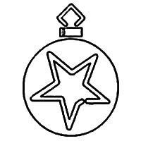 Ornament with Large Star