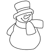 photo about Snowman Patterns Printable referred to as Snowman Template - Pick towards 87 Totally free Snowman Outlines