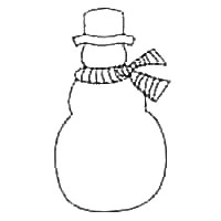 Snowman Coloring Sheet Printable Tag: 31 Staggering Snowman ... | 200x200