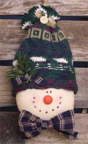 Stuffed Snowman Pattern - Free Snowman Pattern to Sew