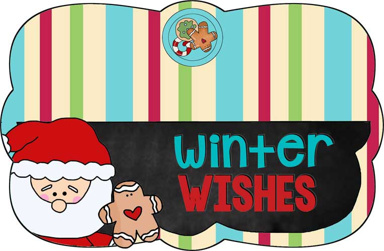 7-inch Winter Wishes Bag Topper