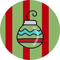 Christmas Ornament Ornament Template