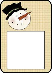 Christmas Post It Pattern