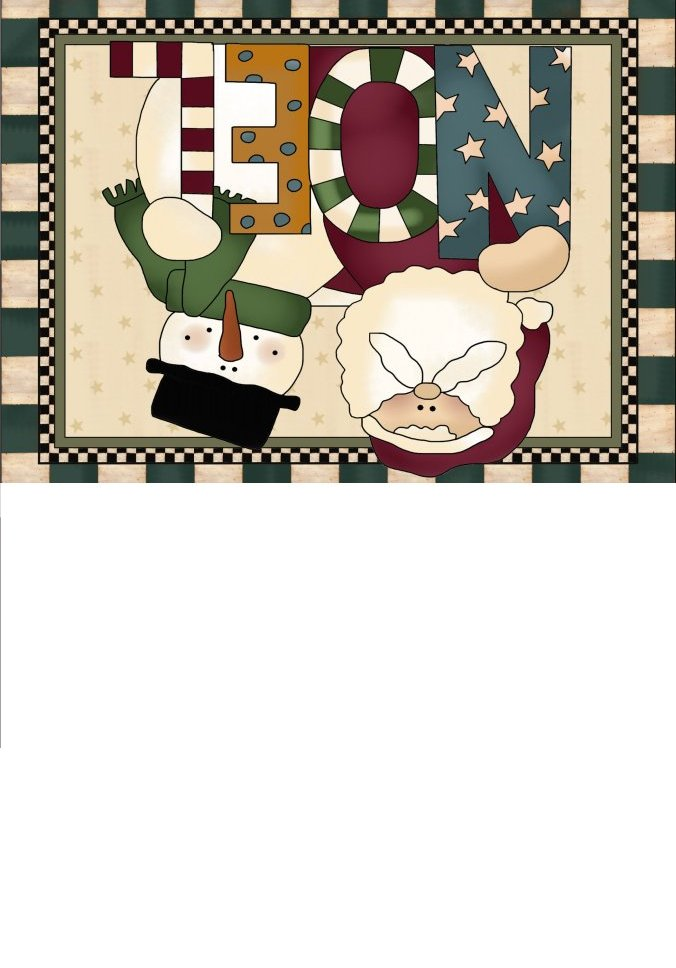 Santa Claus Christmas Cards