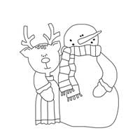 Frosty and Rudolph