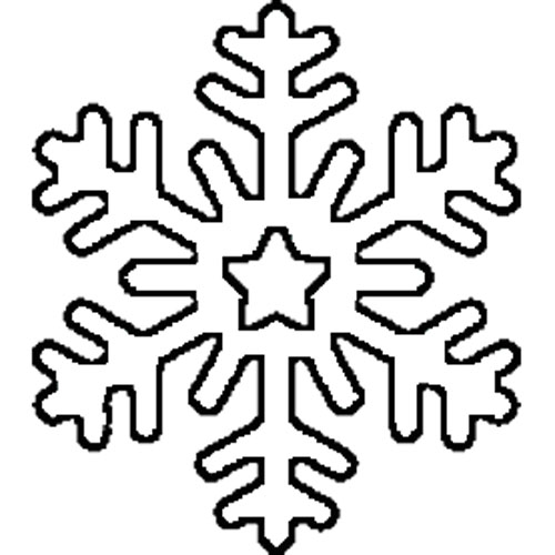 6-sided Snowflake - NorthPoleChristmas.com