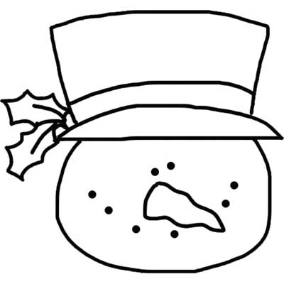 Snowman Head - NorthPoleChristmas.com