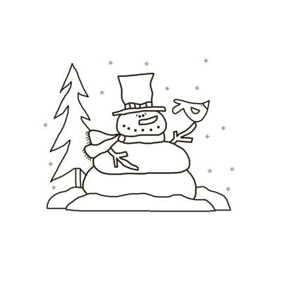 Snowman With Friend - NorthPoleChristmas.com