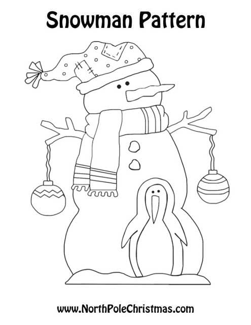 Christmas Snowman and Friend - NorthPoleChristmas.com