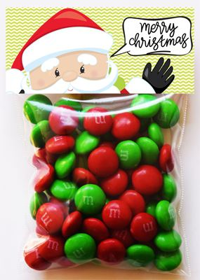 Christmas treat bag ideas for small bags