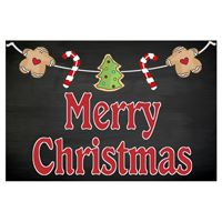Merry Christmas with Banner