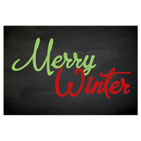 Merry Winter Tag