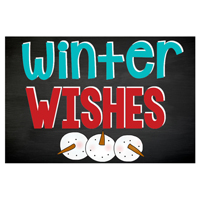 Winter Wishes Sign