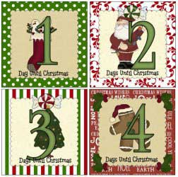 Countdown to Christmas Printables