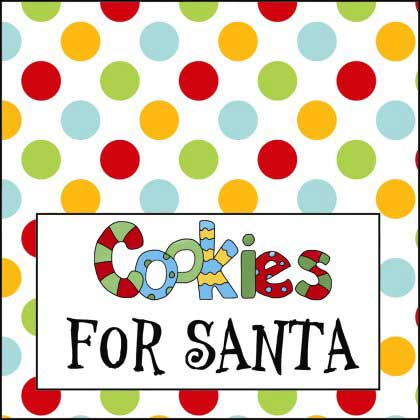 Cookies for Santa Sign, Cookies & Milk - NorthPoleChristmas.com