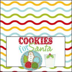 Cookies for Santa with Milk