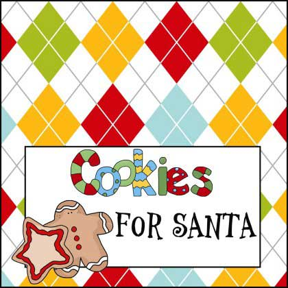 Cookies for Santa Claus Sign - NorthPoleChristmas.com