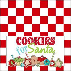 Cookies for Santa - Red