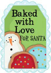 Baked with Love for Santa
