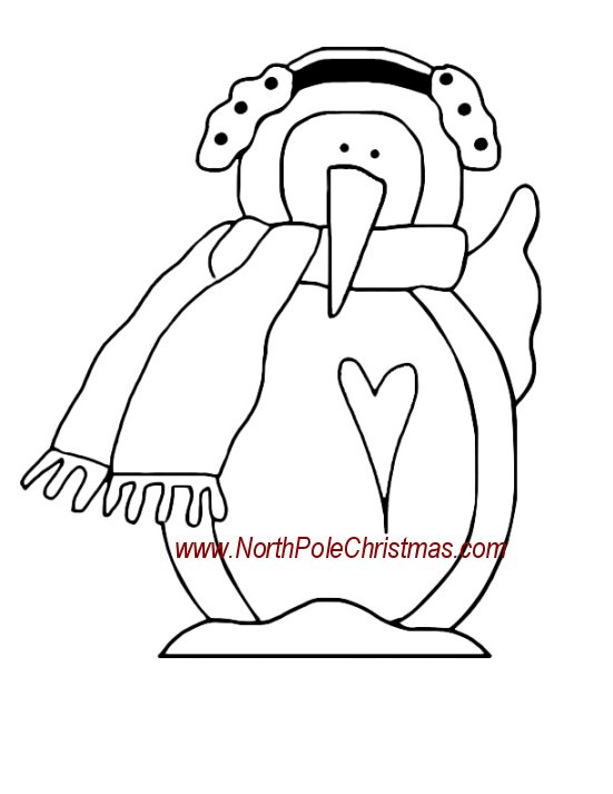 Penguin Crafts Wood Craft Ornament or Yard Art