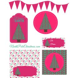 Bright Pink Printables