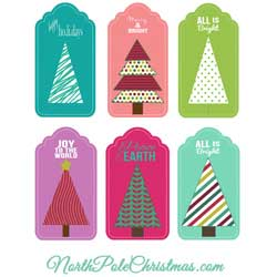 Christmas Hang Tags