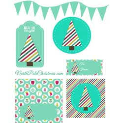 Light Teal Printables