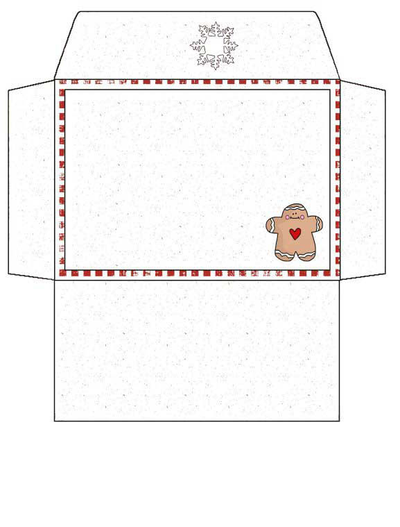 Gift Card Envelope #2 to Print