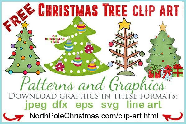 Christmas Clip Art Free Clipart Images 2 - Simple Christmas Tree Clipart,  HD Png Download , Transparent Png Image - PNGitem
