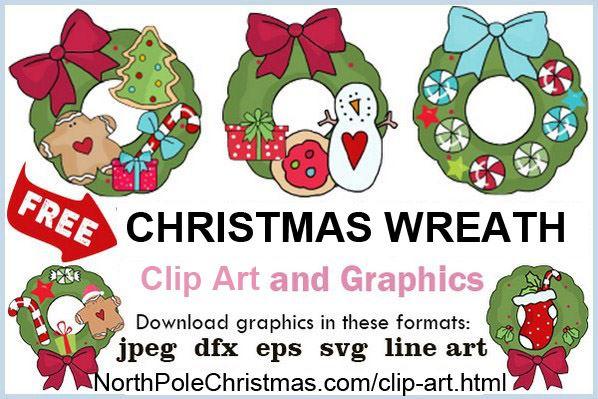 Wreath Clipart 5 Unique Christmas Wreath Clipart Svg Jpg