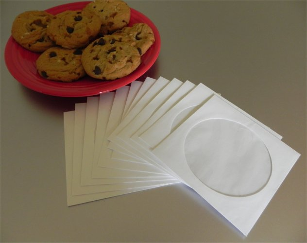 cookie pouches from CD