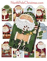 Christmas Hang Tags Christmas Gift Tags