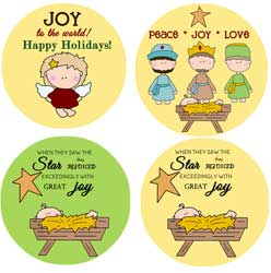 Joy Nativity Graphics Set