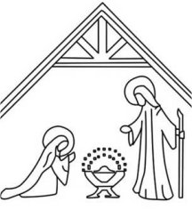 Nativity Outlines