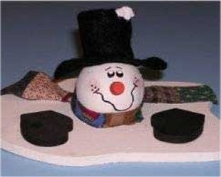 Melting Snowman Crafts