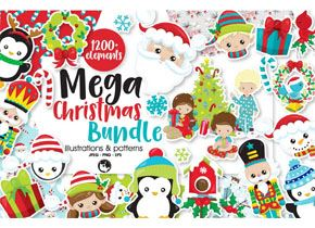 Christmas Graphic Bundle at PrettyGrafik