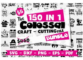 Cutting Files Bundle at PrettyGrafik