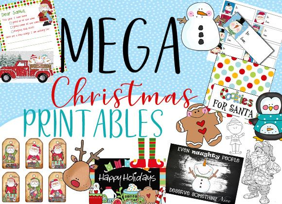 Mega Christmas Printables