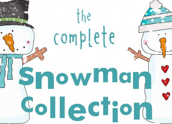 Snowman Clipart, Crafts, Quotes