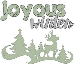 Joyous Winter Quote