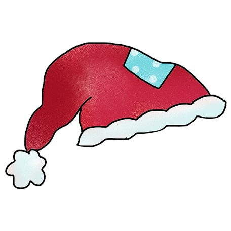 photo regarding Santa Hat Printable named 12 Santa Hats - Printable -