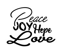 Religious Christmas Quotes - Peace joy hope love