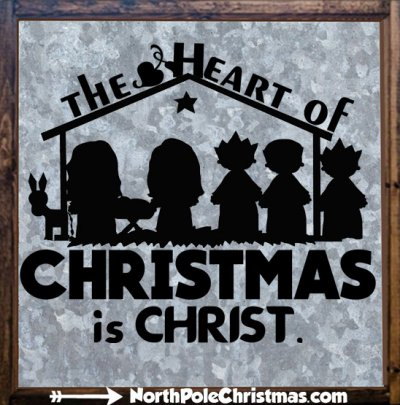 13 Christmas Religious Sayings at NorthPoleChristmas.com