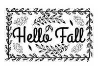 Fall Sayings - Hello Fall